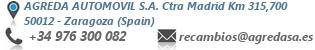 Datos de contacto AGREDA AUTOMOVIL, S.A. Concesionario Oficial Mercedes Benz
